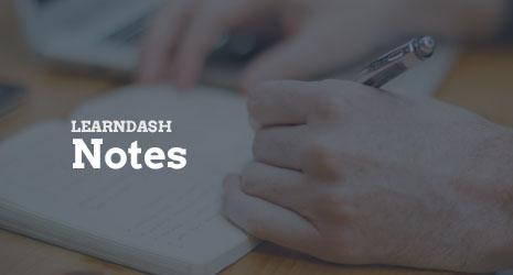 learndashNotes